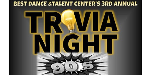 Best Dance and Talent Center 3rd Annual Trivia Night Fundraiser