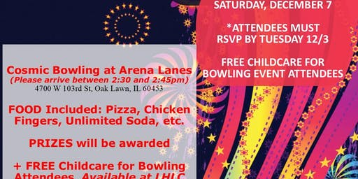 LHLC's Parent Holiday Appreciation Event at Arena Lanes (Cost: FREE)