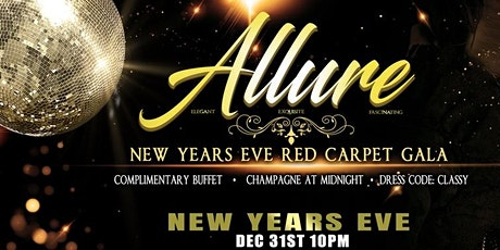 ALLURE 2019  (New Years Eve Red Carpet Gala) tickets