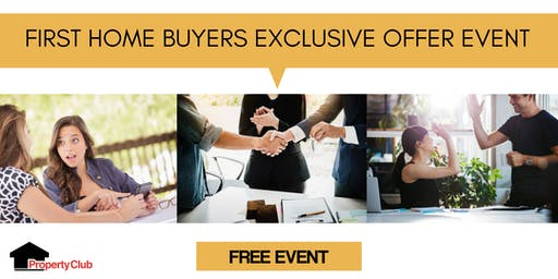 NSW | Property Club | First Home Buyers Exclusive Offer Event