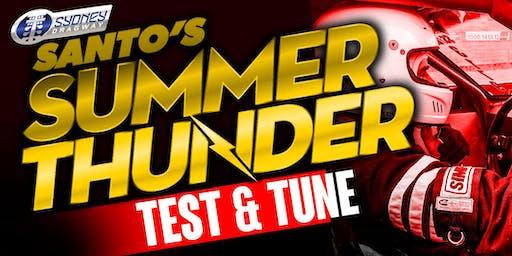 Santo's Summer Thunder TEST N TUNE 11 January 2020