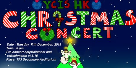 YCIS Secondary Music Concert tickets