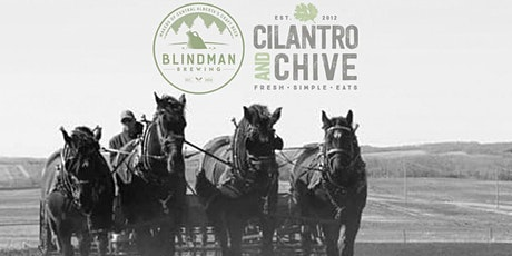 Blindman Beer Dinner at Cilantro and Chive tickets