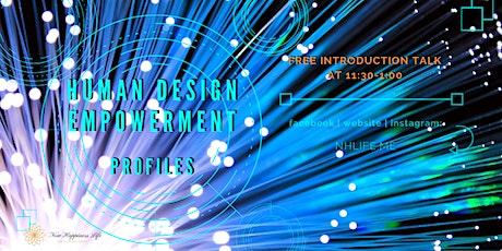 【免費】生命易圖 Human Design Empowerment Free Talk ::6種人生角色:: tickets