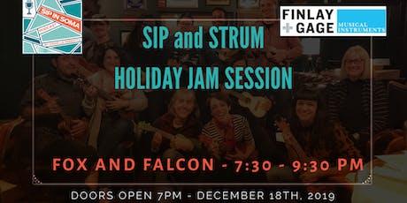 Ukulele Holiday Jam Session  tickets