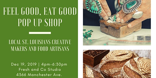 Feel Good, Eat Good Pop Up and Shop Happy Hour