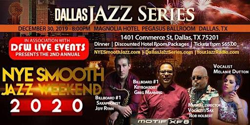 NYE Smooth Jazz Dallas 1 2-30-19. Greg Manning/Jeff Ryan/Rob Holbert plus