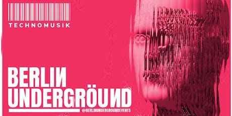 Berlin Underground - Bondi tickets