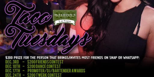 DJ Hennessy & Aries Entertainment Presents: The World Famous $2 TUESDAYS