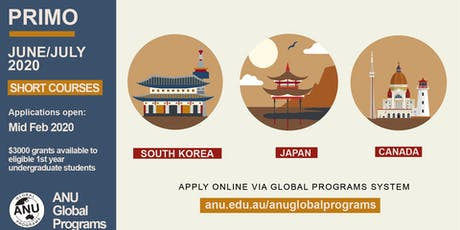 Orientation Week: First-Year Learning Abroad Program (PRIMO) tickets
