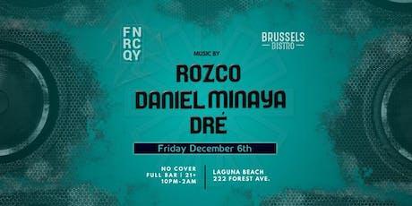 Frequency presents Daniel Minaya, Dre and Rozco tickets