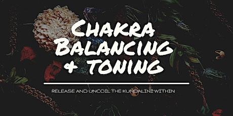 Chakra Balancing & Toning tickets