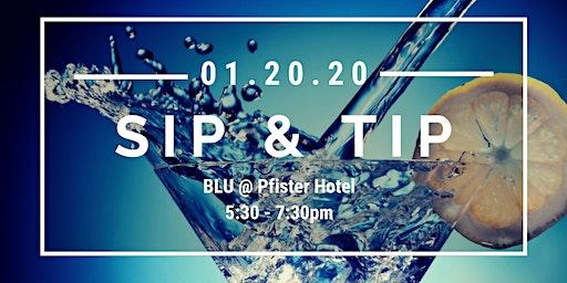 Sip & Tip!: NSBE MAP Blutends at BLU Bar & Lounge