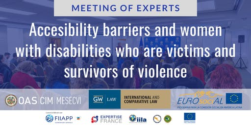 Meeting of Experts: Accessibility barriers and women with disabilities