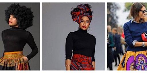 DIY Maxi Skirt ! A Black History Month WorkShop !