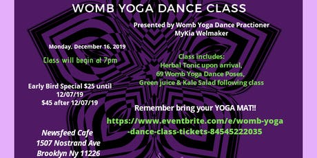Womb Yoga Dance Class tickets