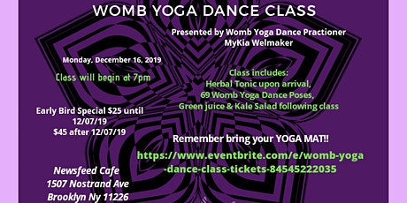 Healing Yoga Dance Class tickets