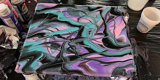 Acrylic Pour Art Workshop