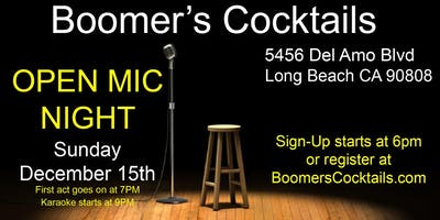 Open Mic Every 3rd Sunday of the Month