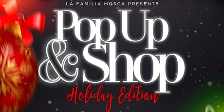 """Pop Up & Shop """"Holiday Edition"""" tickets"""