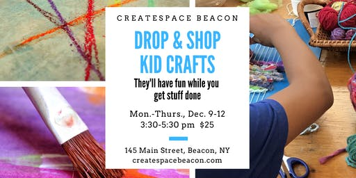 Drop & Shop Kid Crafts