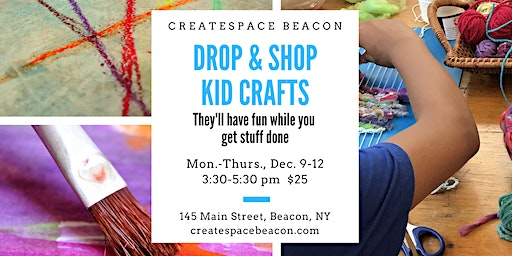 Drop & Shop Kid Crafts