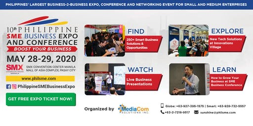 10th Philippine SME Business Expo & Conference