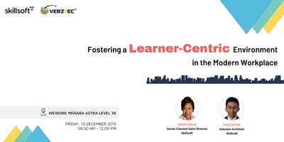 [FREE] FOSTERING A LEARNER-CENTRIC ENVIRONMENT IN THE MODERN WORKPLACE