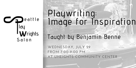 Playwriting: Image for Inspiration tickets