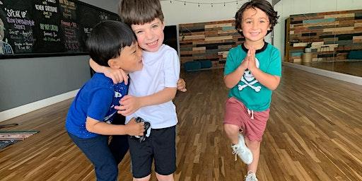 Kids Winter Camp Yoga + Art