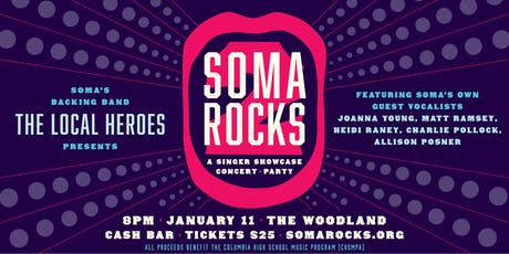 SOMA Rocks 2 tickets