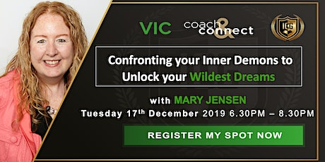 Confronting your Inner Demons to Unlock your Wildest Dreams tickets