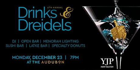 Drinks and Dreidels - YJP Chanukah Party 2019 tickets