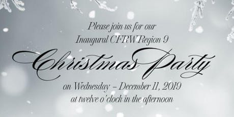 CFRW Region 9 - Inaugural Christmas Party (2019) tickets