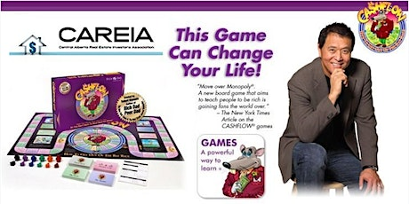 Cashflow 101 Board Game & Dinner -Hosted by CAREIA tickets