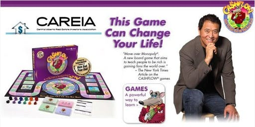 Cashflow 101 Board Game & Dinner -Hosted by CAREIA