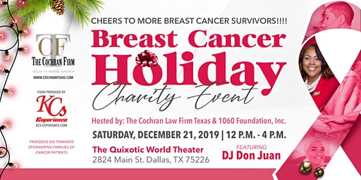 Cheers to More Breast Cancer Survivors - Charity Brunch / Day Party
