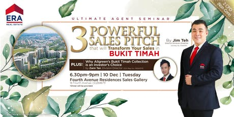 [UAS] 3 Powerful Sales Pitch That Will Transform Your Sales in Bukit Timah tickets