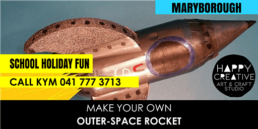 Outer-space Rocket
