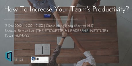 How to increase your team's productivity? tickets