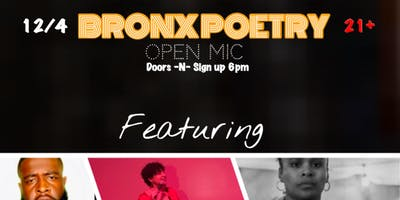 BRONX POETRY OPEN MIC