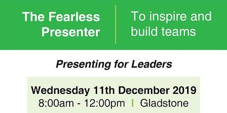 The Fearless Presenter tickets