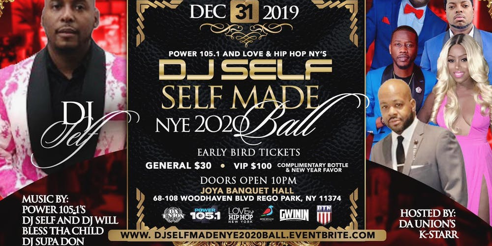 New Hip Hop Albums 2020.Nyc Dj Self Made New Year S Eve 2020 Ball