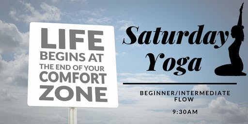 YOGA :: Leaving your comfort zone and finding new comfort zones