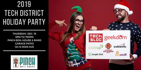 4th Annual Tech District Holiday Party tickets