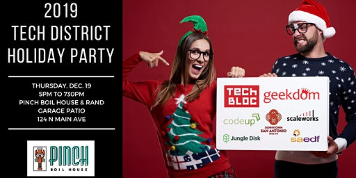 4th Annual Tech District Holiday Party