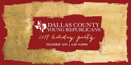 2019 Dallas Young Republicans Holiday Party tickets