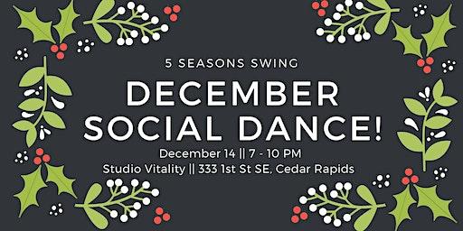 December Social Dance!