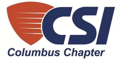 CSI Cbus Mon 12.9.19 at 11:30am Continuous Insulation and Beyond: AIA HSW