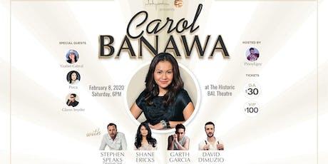 Carol Banawa & Stephen Speaks with Shane Ericks & David DiMuzio tickets